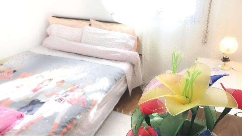 PLAZA ELIPTICA H1 羚羊公寓2⃣️舒适的双人大床房间地铁6号线出口2分钟