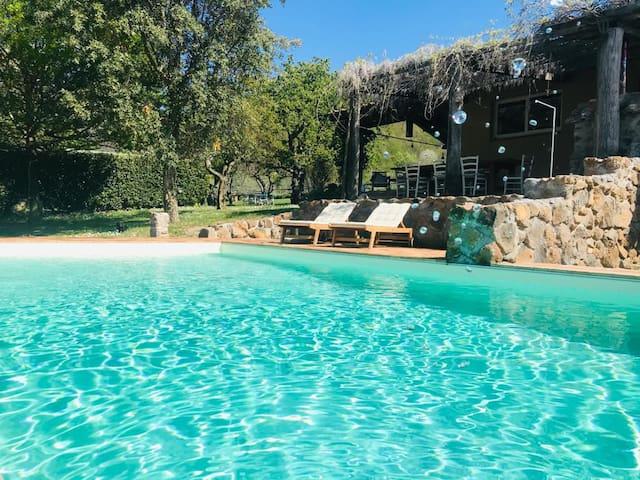 Il Ceraso  Casa indipendente con piscina