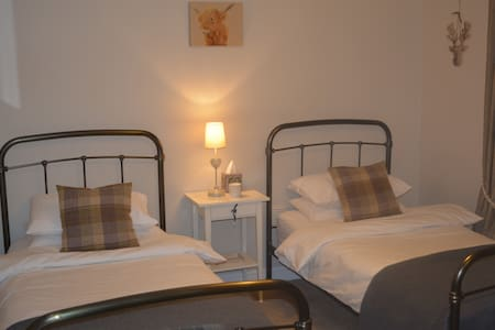 Twin bedroom, St Andrews, 7-10 mins walk from town - St Andrews - 独立屋