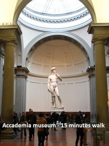 Accademia - 15 minutes walk