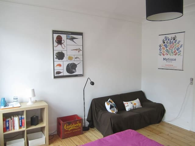 Spacious room in Central Copenhagen
