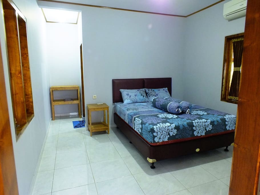 One room bungalow with air conditioning