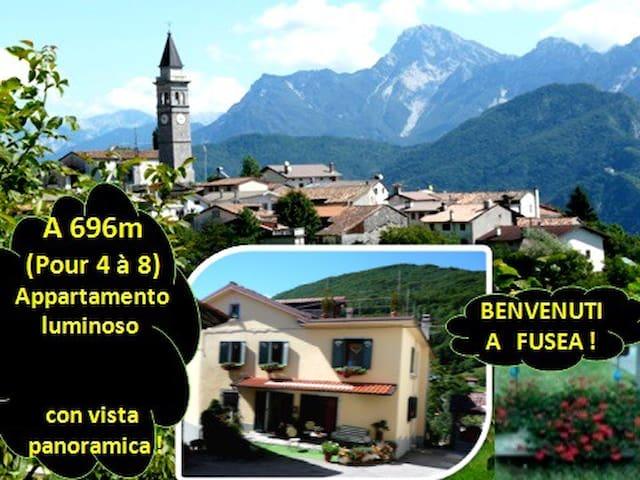"""Farniente a 4 """"o più"""" a 696m alt. con vista ! - Tolmezzo - Apartment"""