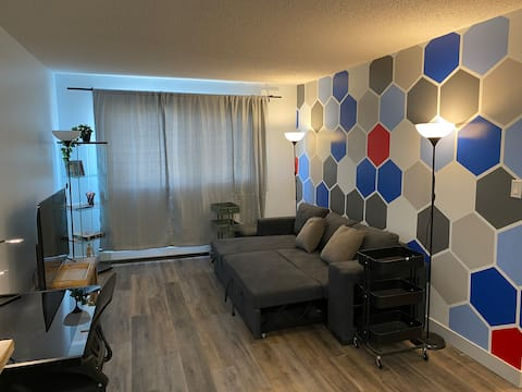 Entire condo with ensuite laundry