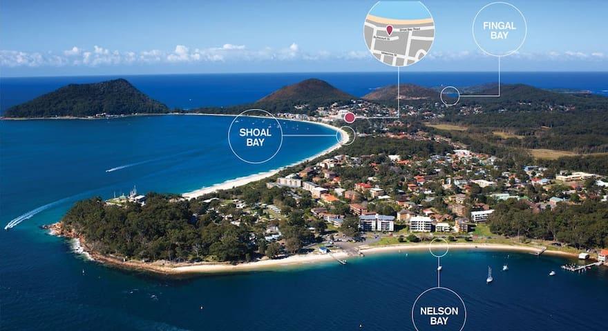 Brand new 2bdr apt close to beach - Shoal Bay - Apartmen