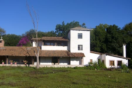 The Guapamacátaro Hacienda was built in the late 1800's as an agricultural ranch and has become a vacation haven, full of natural splendor and old-world charm. Located in the culturally rich Purepecha region of Mexico, 2.5 hrs West from Mexico City.