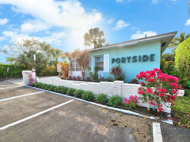 Portside, Unit 9 Waterfront - Palm Beach Shores - Hotel butik
