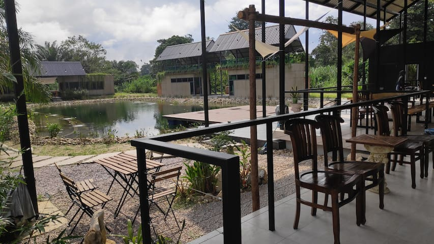 Gopeng Riverstones, private resort for up to 30