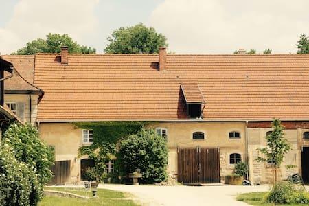 Gänsehüterhaus, JvW, in Schlossanlage Birkenfeld. - Maroldsweisach - Rumah Tamu