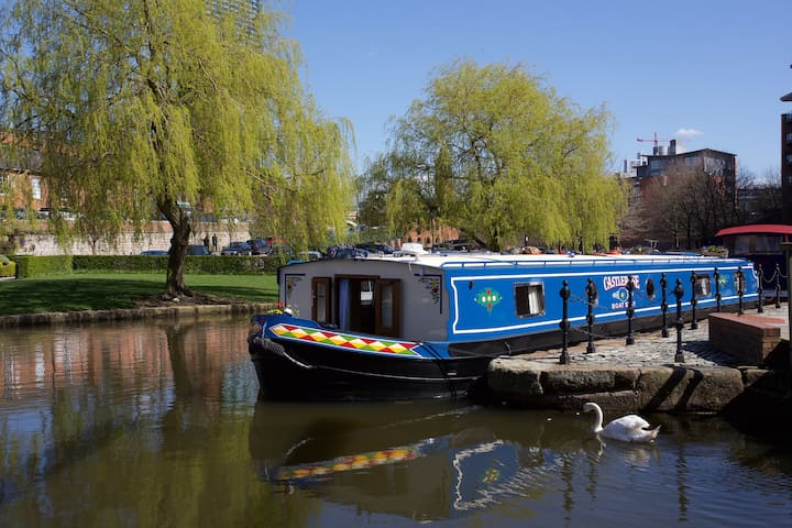 CASTLEROSE Boat Stay - Castlefield Basin - Manchester - Boat