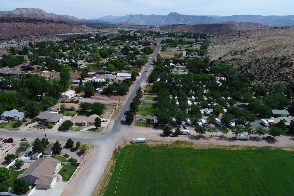 The Rv park via Drone :)