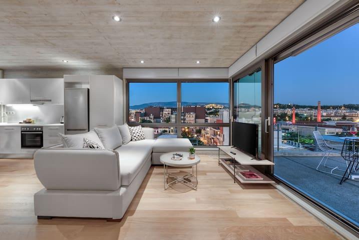 Athens Skyline Apartment