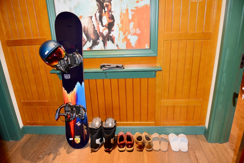 房主本人也是一名滑雪爱好者