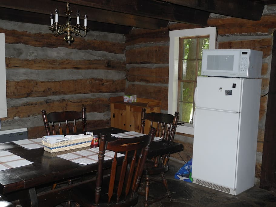 Cabin is over 100 yrs old