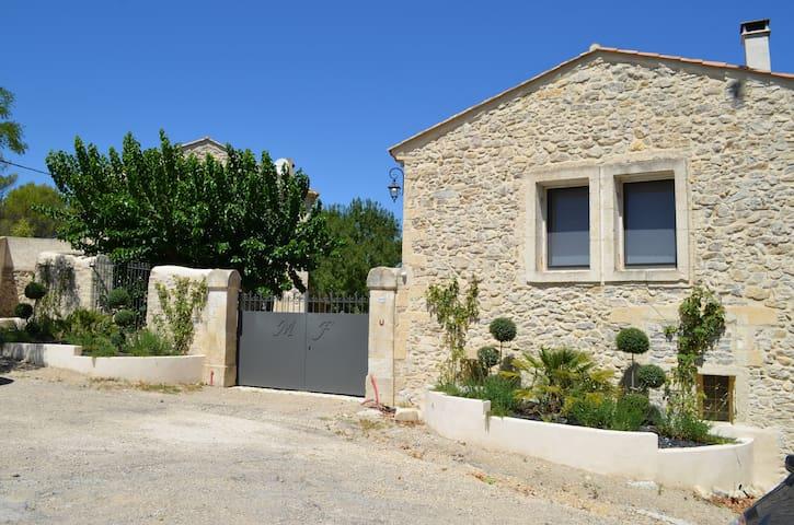 Gerenoveerde oude watermolen 10p - Buzignargues - Cabin