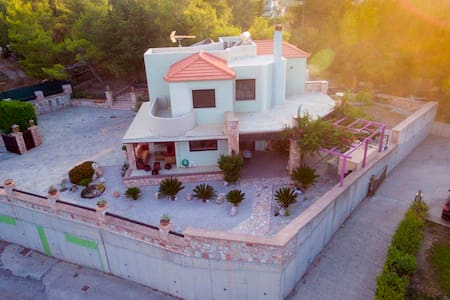 Check this out!!!  Small Paradise Villa. Amazing!! - Koskinou