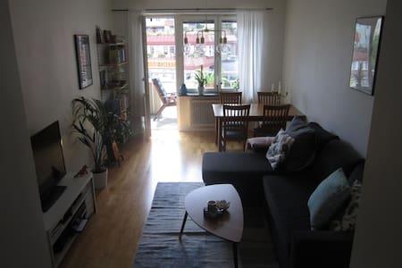 Cozy apartment in trendy Sundbyberg - Sundbyberg