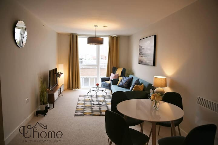Stunning Modern 2 Bedroom Apartment