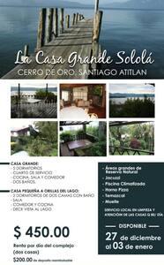 Casa Grande Solola - Haus