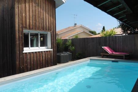 Maison deux chambres avec piscine chauffée - La Teste-de-Buch - Haus