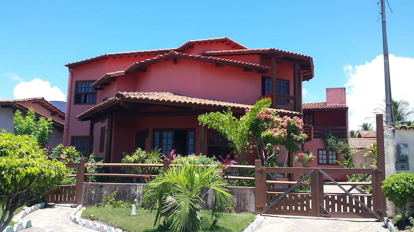 Casa 5 suítes em Santa Cruz Cabrália - BA, Brasil - Santa Cruz Cabrália - Pis