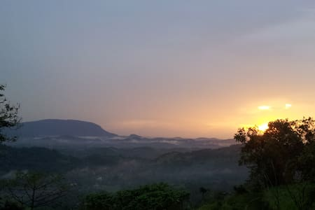 Pristine Hills: a peaceful room with a forest view - Kadugannawa
