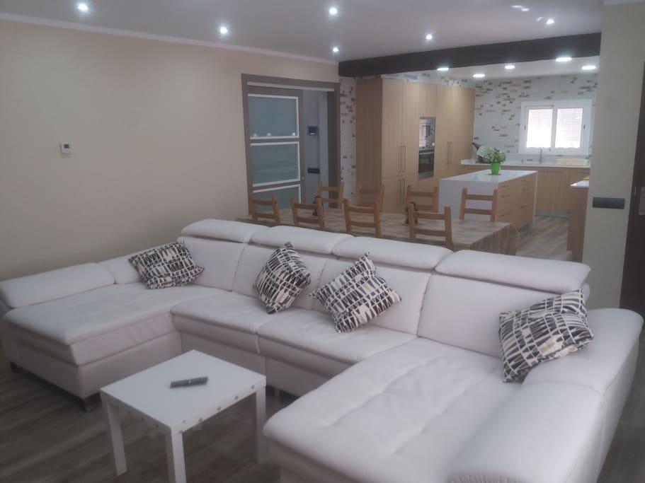 Precioso salon comedor de 50 m2