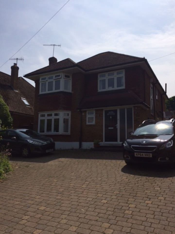 Lovely detached house with off street parking