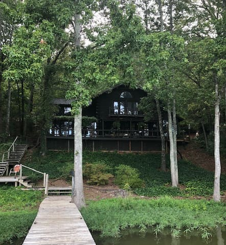 Blue Willow Cove /Lake cottage in the woods