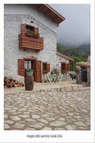 Magie del Sannio - Chalet in Campania - San Lorenzello - Kabin