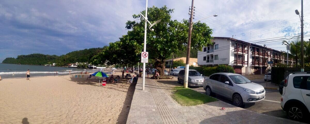 Triplex em frente à praia - Itajaí