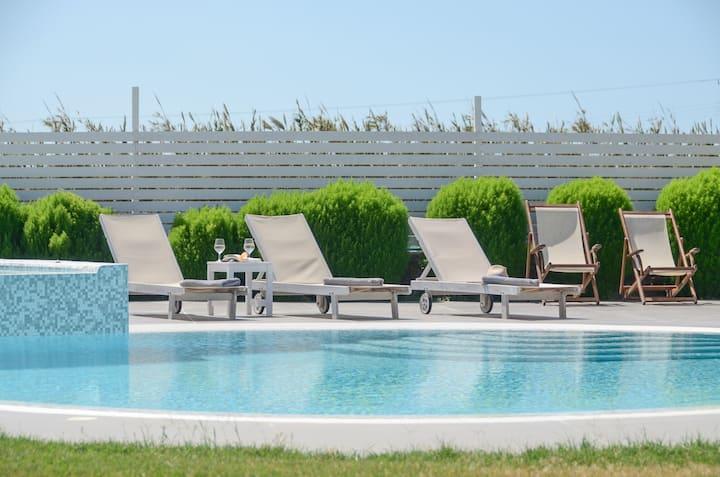Depis Edem Silver Villa pool/ SeaView/Plaka Naxos