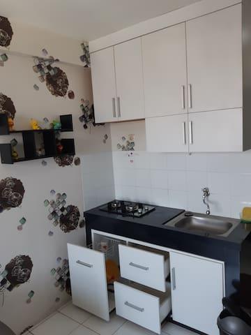 Furnish Apartement Sentra 2BR Jakarta Timur murah