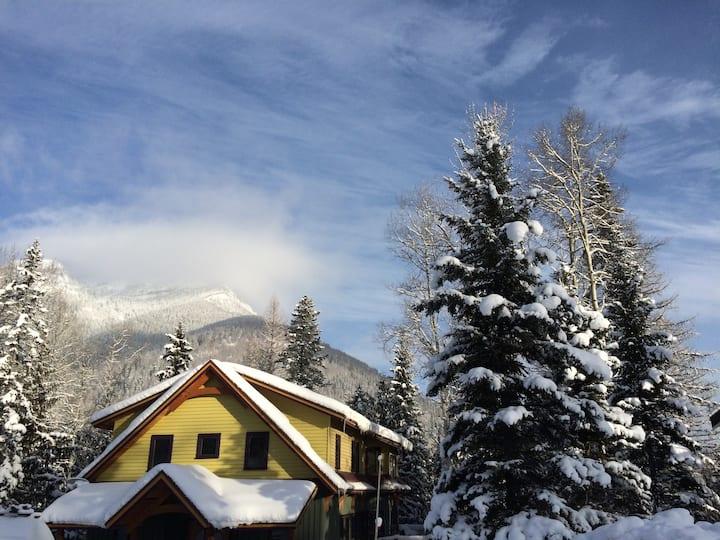 come ski in Fernie! long term rental