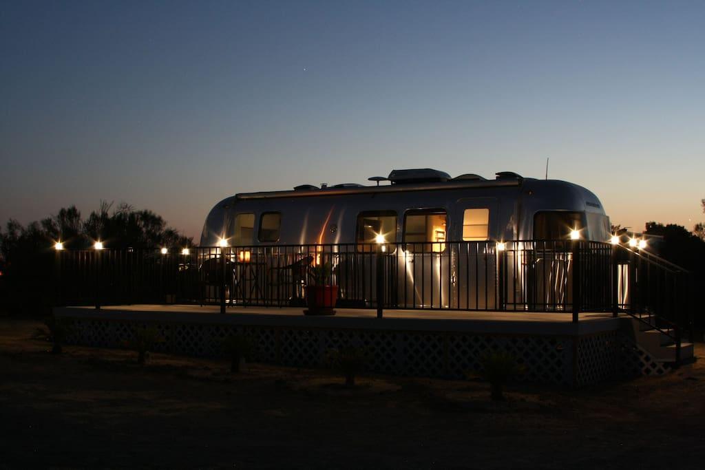 Vintage hills house silver suite camping cars caravanes louer paso ro - Location caravane vintage ...