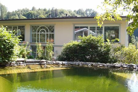 Vierbettzimer mit Hallenbad, Badeteich und Sauna - Dafins - Boetiekhotel