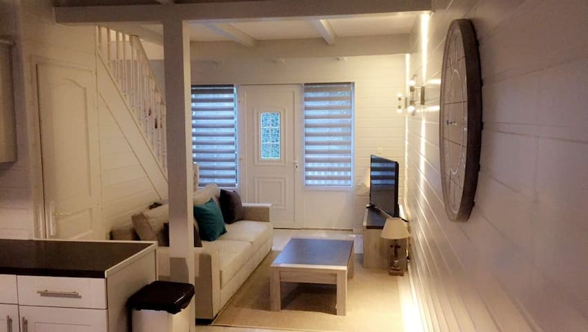 maison t3 duplex chaleureuse et depaysante - Merville-Franceville-Plage - Huis