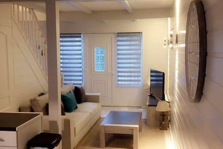 maison t3 duplex chaleureuse et depaysante - Merville-Franceville-Plage - Rumah