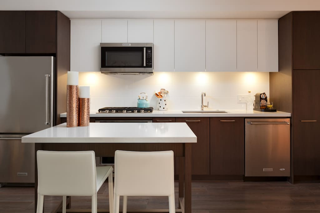 Great kitchen, all brand new appliances