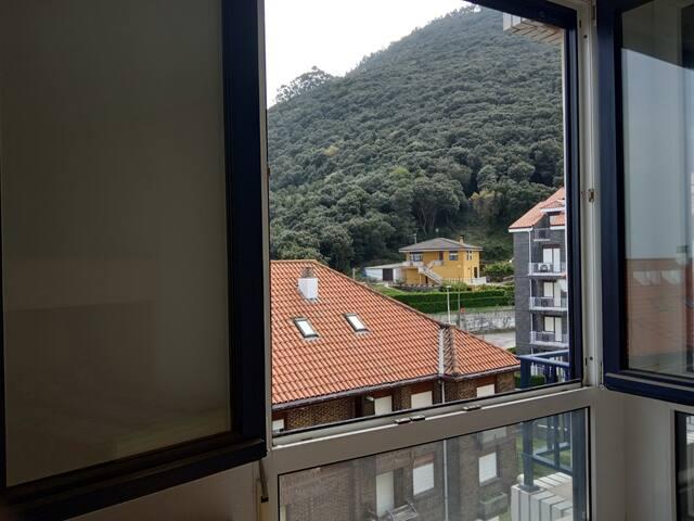 Vistas habitación litera al monte