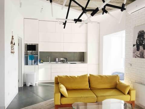 cozy apartment near river
