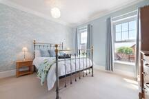 Bedroom 1 with luxury en suite