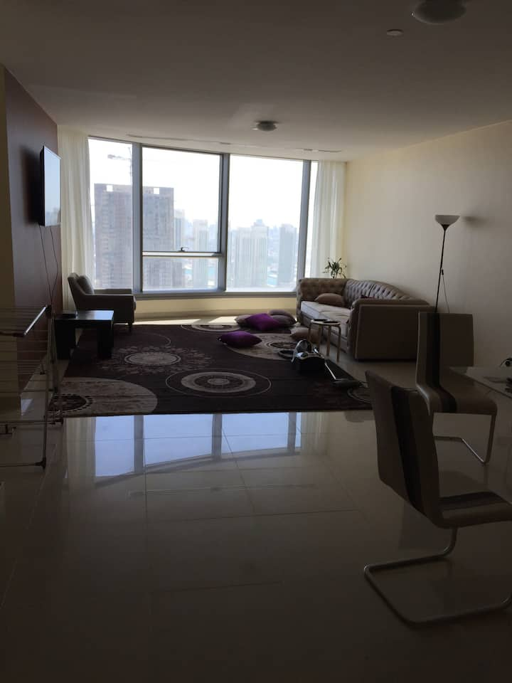 two  bedrooms flat  best area in Abu Dhab