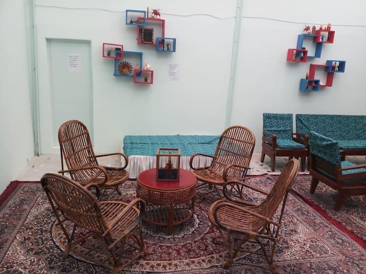 Babu Guest House -Four bed non AC Room-Lucknow Varanasi Rd Aurangabad Uttar Pradesh