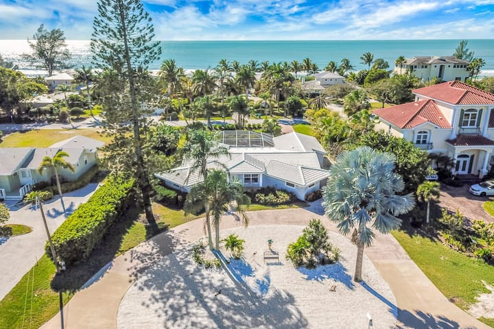 Beautiful Home boasting a private pool and private beach access!
