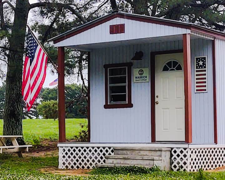 """""""Warrior"""" Guest Cottage on Camp Liberty"""