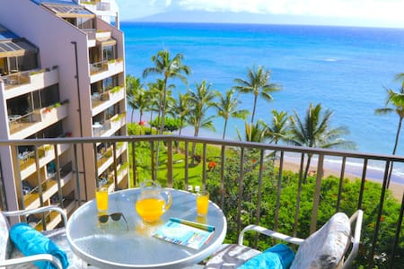 Spring Special-Beachfront Valley Isle Resort Condo With Amazing Ocean Views - Lahaina - Ház