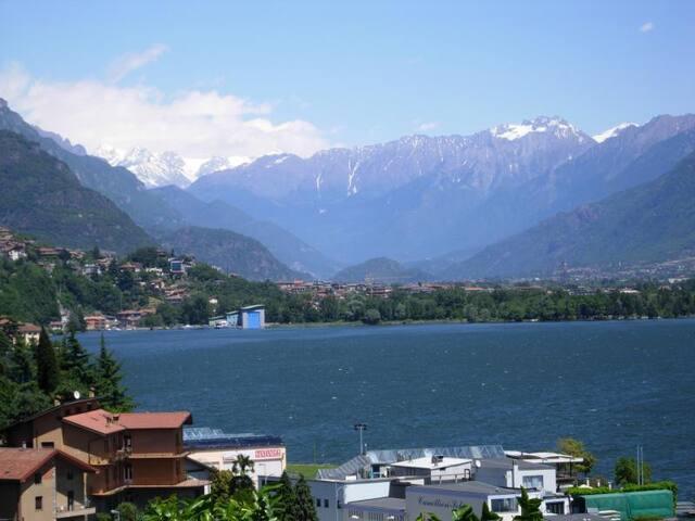 Panorama del lago da Casa Viola