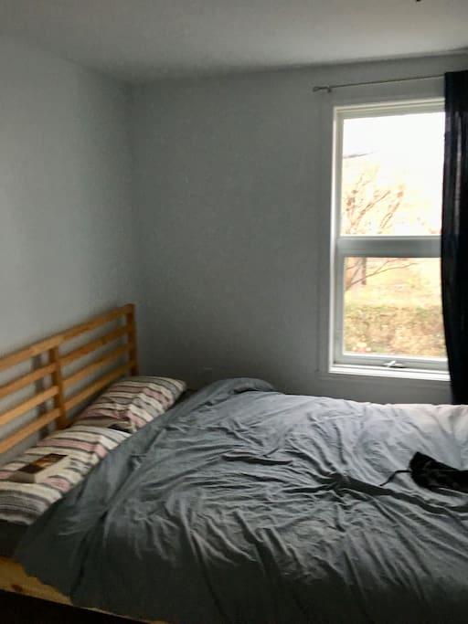 Chambre avec lit Queen - vue sur le parc