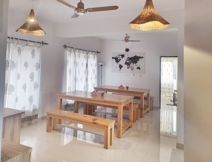 3 Bedroom hall in a Villa North Goa near Vagator